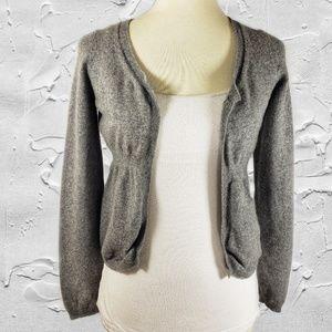 Marni 100% Cashmere Gray Long Sleeve Cardigan Sz 4